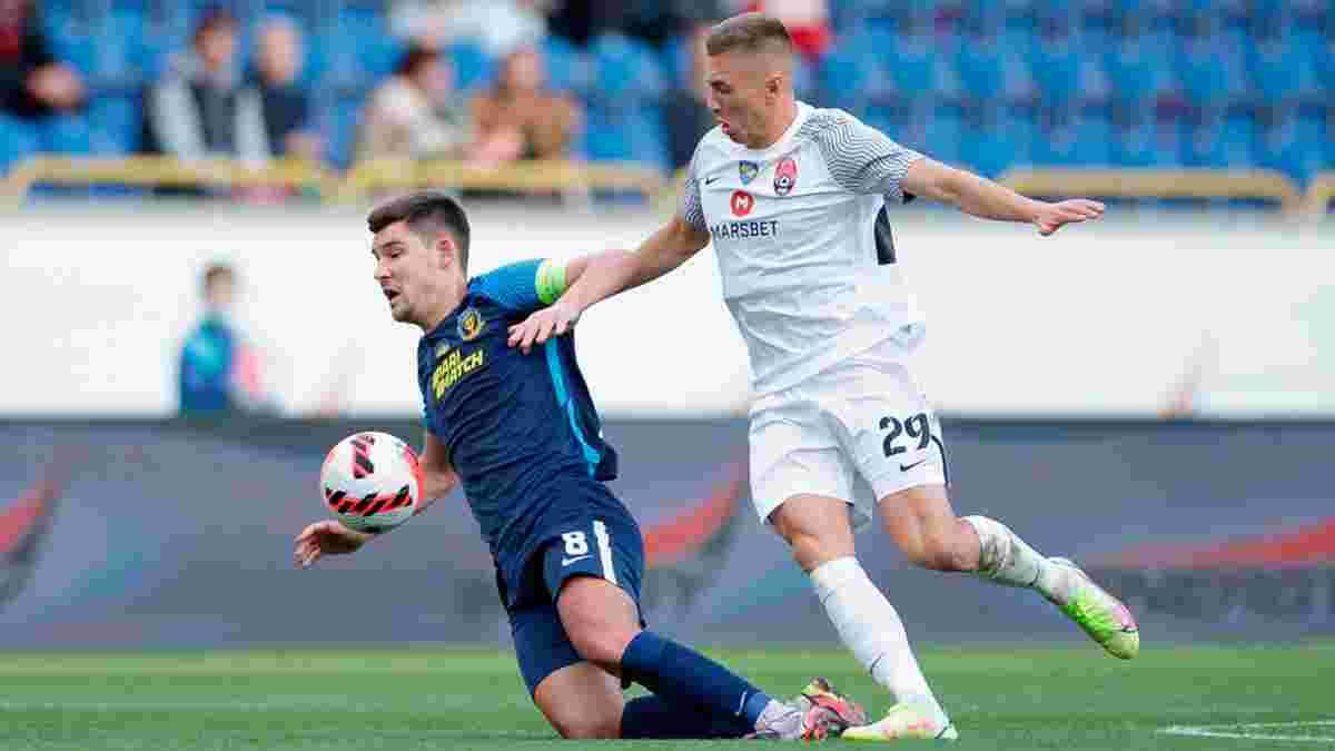 Заря разгромила СК Днепр-1 в центральном матче УПЛ
