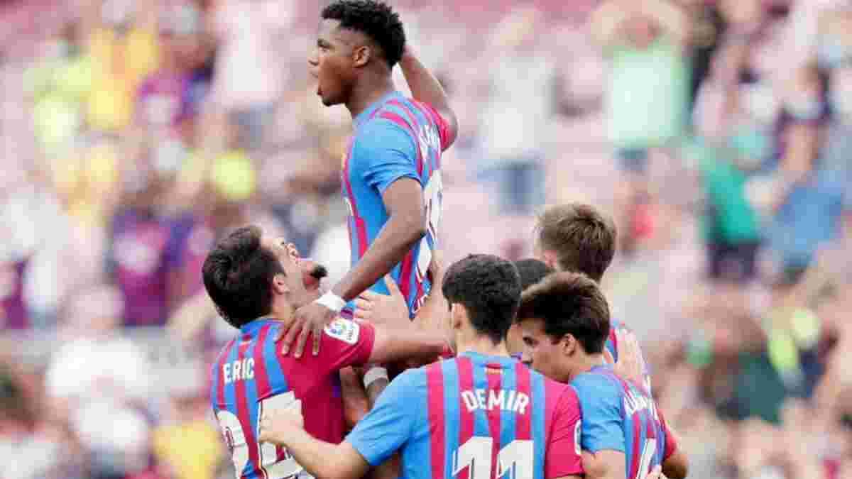 Феєричне повернення Фаті у відеоогляді матчу Барселона – Леванте – 3:0