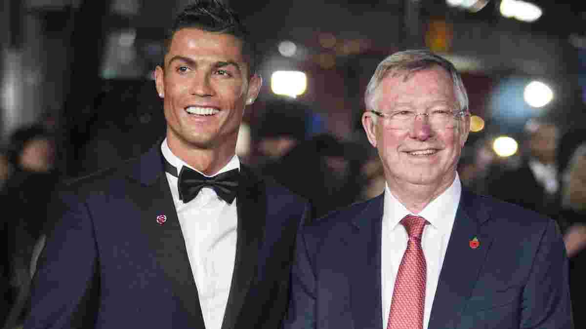 Фергюсон признался, почему отпустил Роналду в Реал