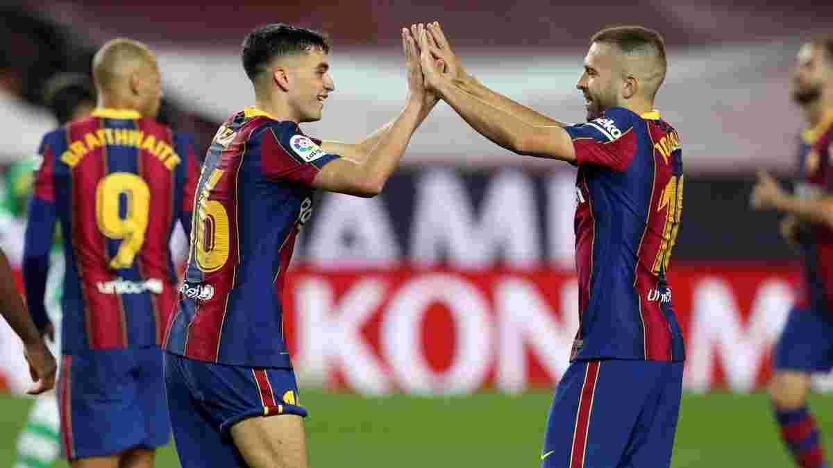 Барселона отримала подвійне підсилення з лазарету