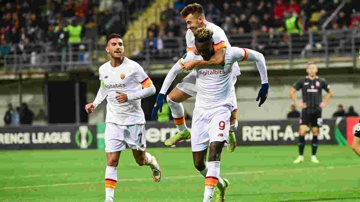 Заря – Рома – 0:3 – видео голов и обзор матча