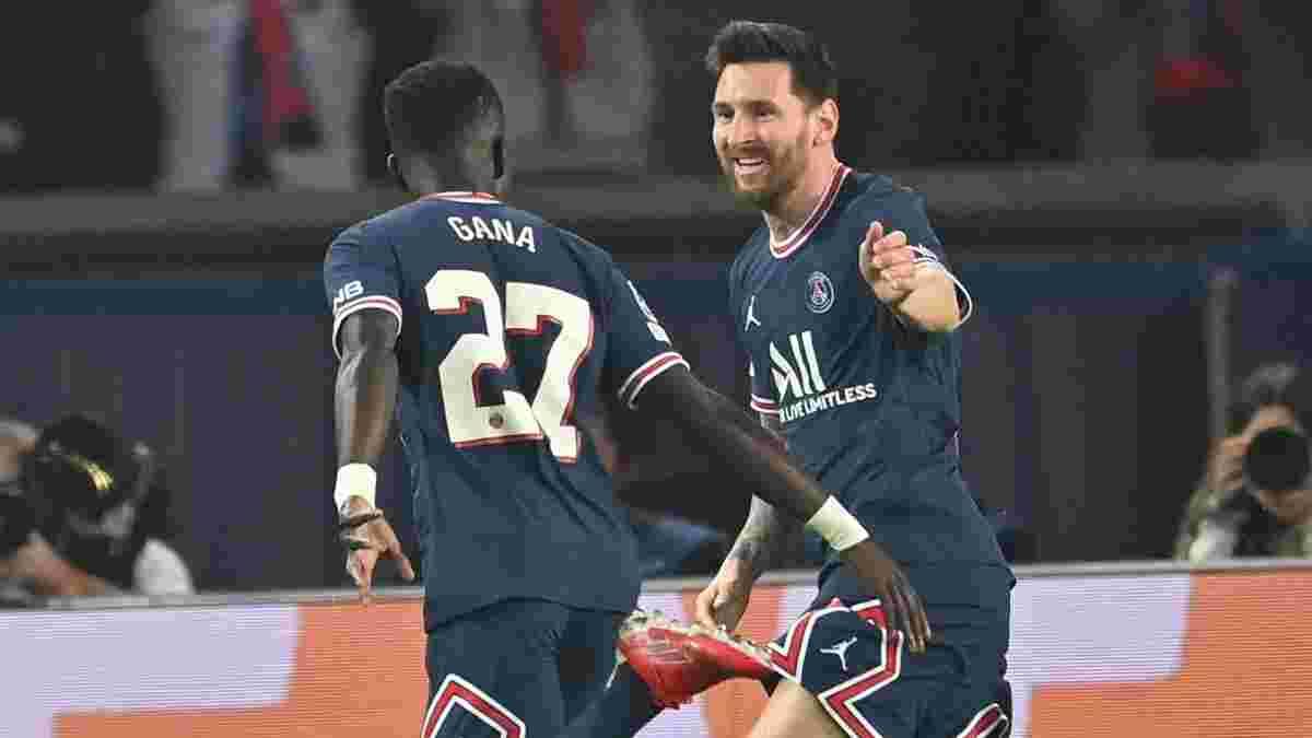 Месси забил роскошный дебютный гол за ПСЖ