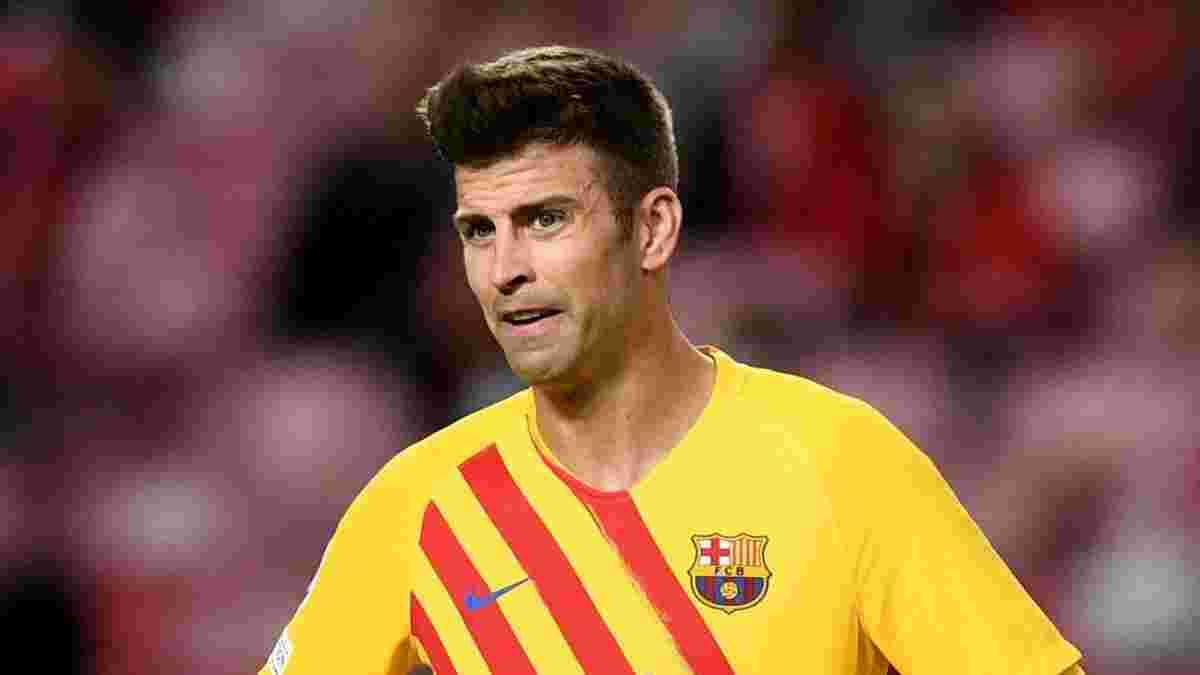 Бенфіка – Барселона: Яремчук спровокував принизливу заміну Піке на 33-й хвилині