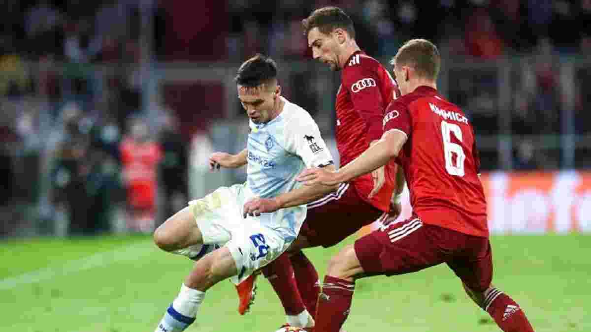 Бавария – Динамо: определились лучший и худший игроки киевлян по версии InStat