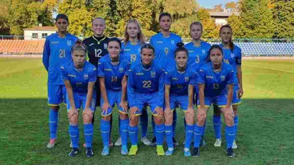 Сборная Украины U-17 среди женщин с неприличным счетом уничтожила своих сверстниц из Молдовы в отборе Евро-2022