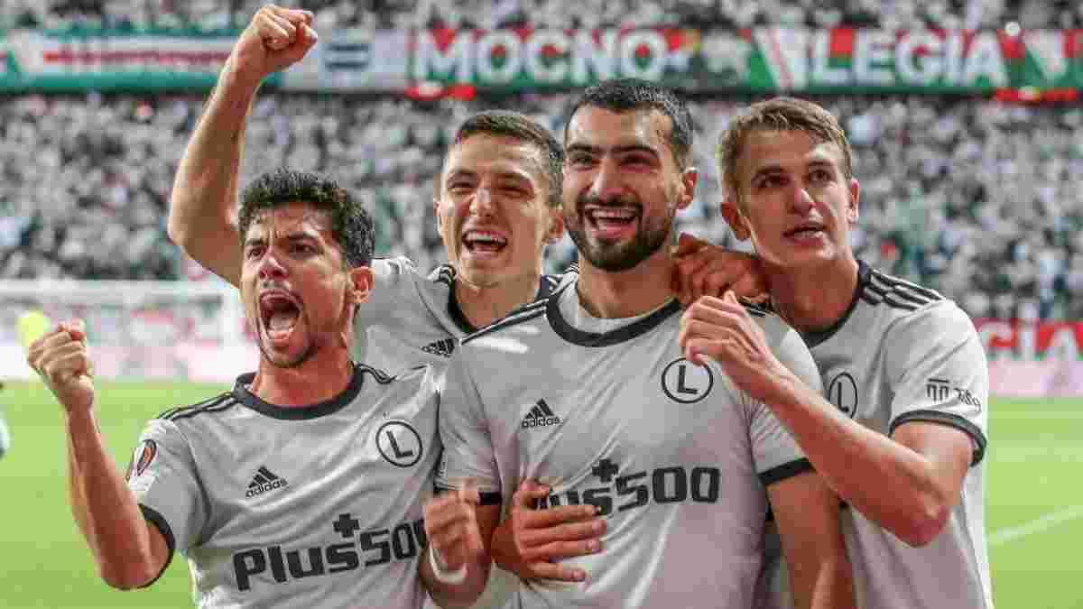 Несподівана перемога Харатіна та Ко у відеоогляді матчу Легія – Лестер – 1:0