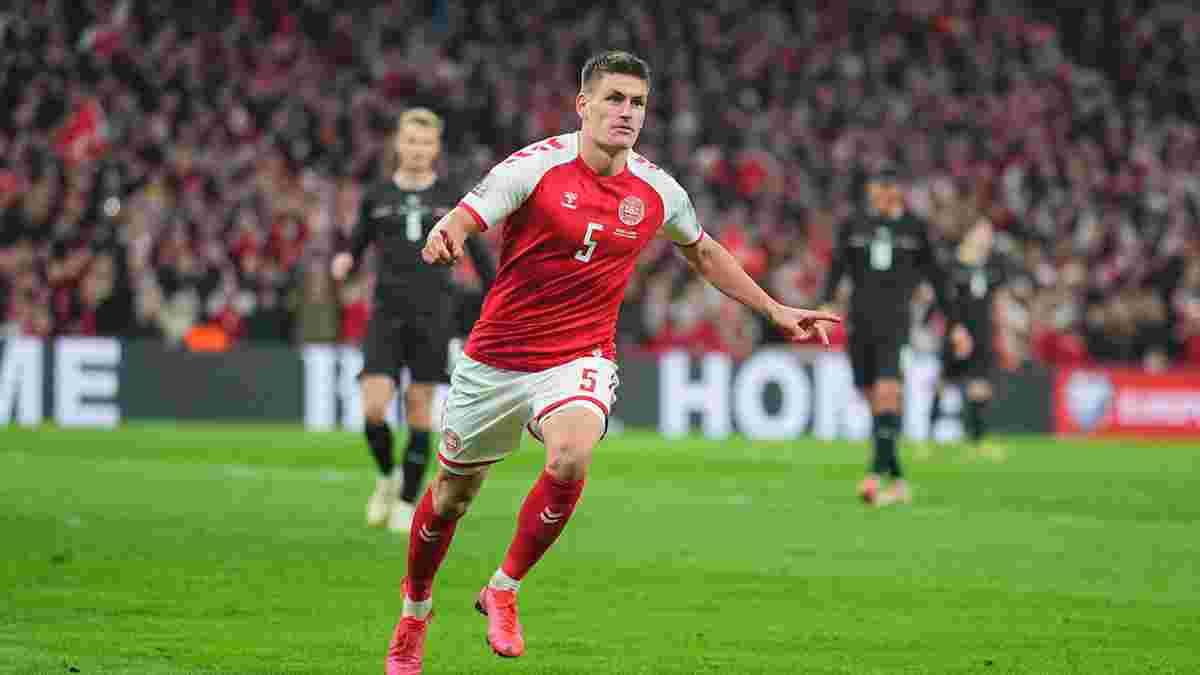 Другий вихід на Мундіаль у відеоогляді матчу Данія – Австрія