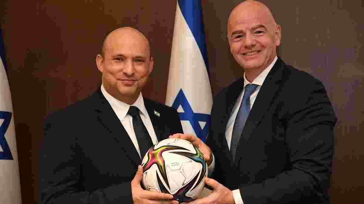 Інфантіно запропонував Ізраїлю провести ЧС-2030 ще з кількома країнами