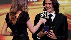 Кавані - найкращий гравець Серії А сезону 2010/11 за версією читачів Футбол 24