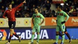 """Неоднозначна поразка Гвардіоли. """"Осасуна"""" - """"Барселона"""" - 3:2. ВІДЕО"""