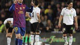 """Привіт для Кріштіану Роналду. """"Барселона"""" - """"Валенсія"""" - 5:1. ВІДЕО"""