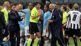 """Гравці """"Лаціо"""" Діас та Маркетті дискваліфіковані на три та чотири матчі відповідно"""