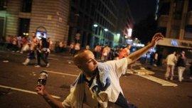 """Фани """"Атлетіко"""" влаштували погроми у центрі Мадрида. ФОТО. ВІДЕО"""