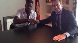 """Офіційно: Сонг підписав із """"Барселоною"""" 5-річний контракт"""
