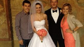 """Гравець """"Дніпра"""" відгуляв весілля. ФОТО"""