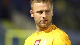 В преддверии Украины - вратарь сборной Польши забивает нереальный гол. ВИДЕО