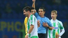 """Офіційно: Бартуловіча покарали жорсткіше, ніж Ярмоленка, """"Арсеналу"""" - технічна"""