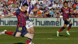 """Феноменально. """"Вальядолид"""" - """"Барселона"""" - 1:0. ВИДЕО"""