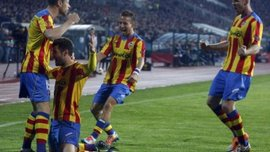 """Ліга Європи: """"Валенсія"""" у меншості декласує """"Лудогорець"""", шок для екс-гравця """"Барси"""". ВІДЕО"""