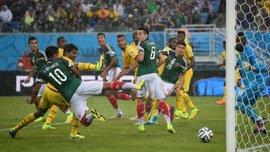 Чотири голи - один зарахований. Мексика - Камерун - 1:0. ВІДЕО