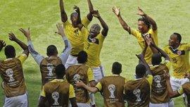 Запальний танець героя Колумбії. ВІДЕО