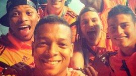 Ложкой по голове: колумбийцы разыграли Сапату. ВИДЕО