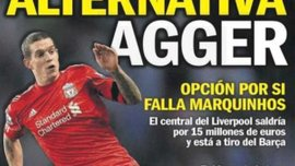 """""""Барса"""" заманивает Аггера, """"Ливерпуль"""" - Лавесси"""