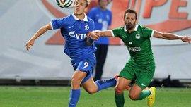 """Екс-гравець """"Дніпра"""" розчаровує москвичів у Лізі Європи. ВІДЕО"""