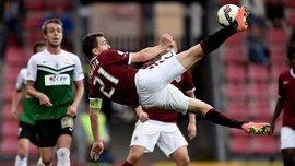 """Капітан """"Спарти"""" прекрасним ударом через себе забиває гол. ВІДЕО"""