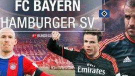 """Матч дня. """"Баварія"""" - """"Гамбург"""" - пригадаємо 9:2 чи 0:0?"""