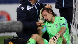 """Основной вратарь """"Лацио"""" сломал нос на тренировке (ФОТО)"""