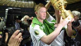 Лучшими в Бундеслиге сезона 2014/15 стали Фавр и Де Брюйне