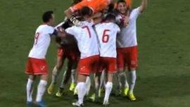 Сольный проход впечатляющим голом завершил игрок Мальты (ВИДЕО)