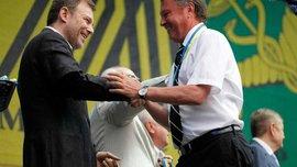Президент Прем'єр-ліги - у відрядженні