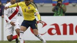 Фалькао вдався до підступної симуляції у матчі з Перу (ВІДЕО)