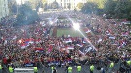 Як Сербія відзначала перемогу на молодіжному чемпіонаті світу U-20 (ФОТО, ВІДЕО)