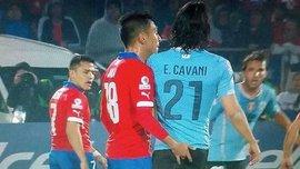Чилийского игрока, спровоцировавшего Кавани, дисквалифицировали и оштрафовали