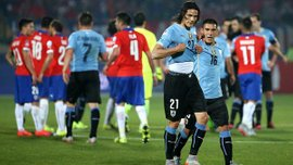 """Кавані ледь ногою не поцілив чилійцю в """"м'ячики"""" (ВІДЕО)"""