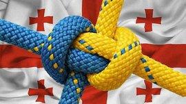 На матче ЛЧ вывесили украинские флаги (ФОТО)
