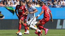 ПСЖ третий раз подряд выигрывает Супекубок Франции (ВИДЕО)