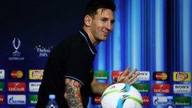 Месси - игрок матча за Суперкубок УЕФА-2015