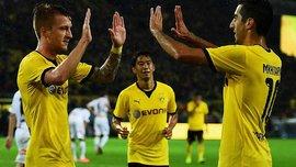ЛЄ: Мхітарян і Ройс видали супершоу в матчі, який судив українець
