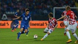 Отбор на Евро-2016. Азербайджан - Хорватия - 0:0 (ВИДЕО)