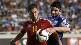 Відбір на Євро-2016. Кіпр - Бельгія - 0:1 (ВІДЕО)