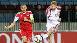 Отбор Евро-2016. Беларусь - Люксембург - 2:0 (ВИДЕО)
