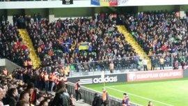Молдовські вболівальники на матчі з Росією заспівали про Путіна (ВІДЕО)