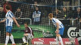Коваль осоромився - пропустив 5 голів у домашньому матчі з командою Аггера
