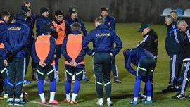 Открытая тренировка Украины перед матчем плей-офф Евро-2016 со Словенией (ВИДЕО)