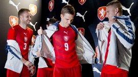 Чехія презентувала форму на Євро-2016 (ФОТО, ВІДЕО)