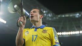 Мегапатріотичний Федецький заряджав трибуни після матчу Словенія - Україна (ВІДЕО)